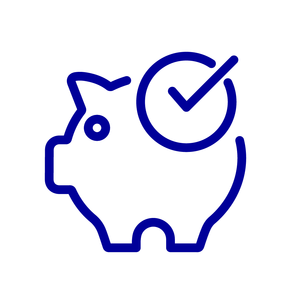Icon for financial wellness
